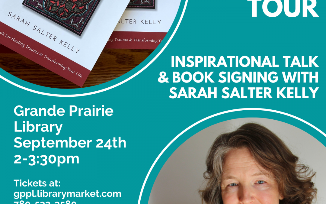 Trauma as Medicine, Inspirational Talk and Book Signing Grande Praire