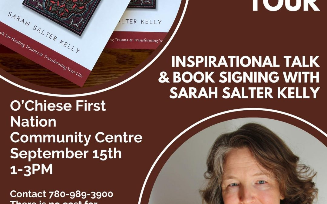 Trauma as Medicine Inspirational Talk & Book Signing O'Chiese First Nation